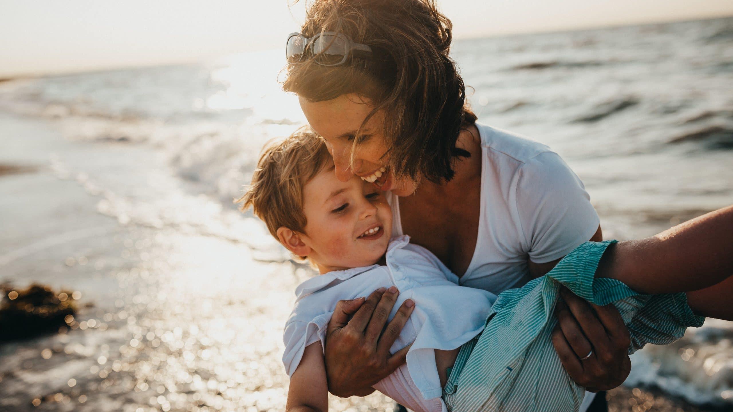 Positief ouderschap, gelukkig kind